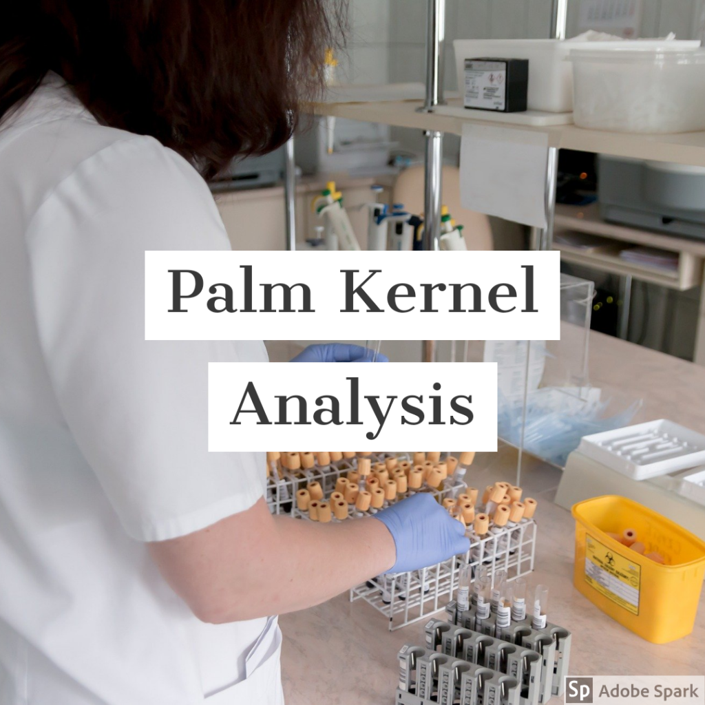 palm kernel analysis