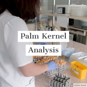 palm kernel analysis