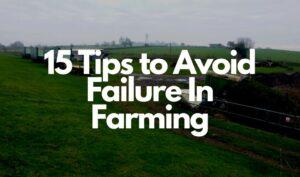 failure in farming